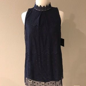 Fortune + Ivy Tops - NWT Fortune + Ivy Sleeveless Top Size Small
